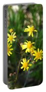 Yellow Bouquet On The Trail Portable Battery Charger