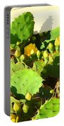 Yellow Cactus Blossoms 594 Portable Battery Charger