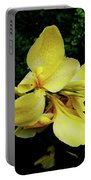 Yellow Canna  Portable Battery Charger