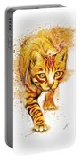 Yellow Cat Portable Battery Charger
