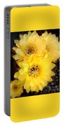 Yellow Cereus Portable Battery Charger