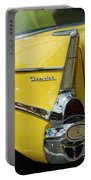 Yellow Chevrolet Tail Fin Portable Battery Charger