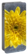 Yellow Chrysanthemum Flower Portable Battery Charger