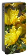 Yellow Chrysanthemum Portable Battery Charger