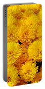 Yellow Chrysanthemums Portable Battery Charger