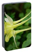 Yellow Columbine Profile Portable Battery Charger