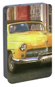 Yellow Convertible Mercury Portable Battery Charger