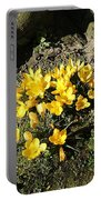 Yellow Crocus 1 Portable Battery Charger