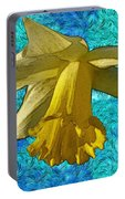 Yellow Daffodil 3 Portable Battery Charger