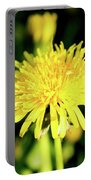 Yellow Dandelion Flower Portable Battery Charger