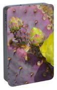 Yellow Desert Bloom Portable Battery Charger