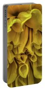 Yellow Dinner Plate Dahlia Portable Battery Charger