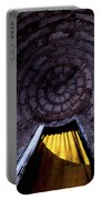 Yellow Doorway Abstract Portable Battery Charger