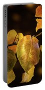 Yellow Fall Leaves Portable Battery Charger