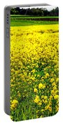 Yellow Field Portable Battery Charger