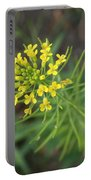 Yellow Flower Weed Portable Battery Charger