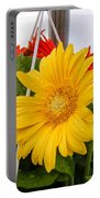 Yellow Gerbera Daisy Portable Battery Charger