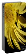 Yellow Gerbera Daisy By Kaye Menner Portable Battery Charger