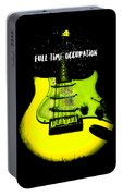 Yellow Guitar Full Time Occupation Portable Battery Charger