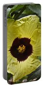 Yellow Hibiscus F134 Portable Battery Charger
