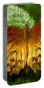 Yellow In The Garden Portable Battery Charger