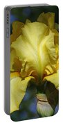 Yellow Iris Is For Passion Portable Battery Charger