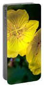Yellow Is Gold Among The Flowers Portable Battery Charger