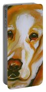 Yellow Lab Amazing Grace Portable Battery Charger