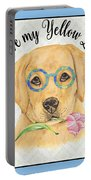 Yellow Lab-jp3869 Portable Battery Charger