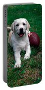 Yellow Labrador Retriever Puppy Portable Battery Charger