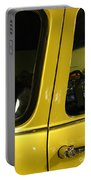 Yellow Lady Abstract Portable Battery Charger