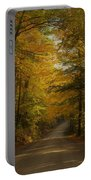 Yellow Leaves Road Portable Battery Charger