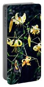 Yellow Lilies In Fort Tryon Park Portable Battery Charger