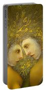 Yellow Lovers Portable Battery Charger