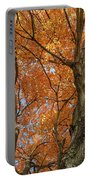 Yellow Maple Tree Portable Battery Charger