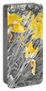 Yellow Moment In Time Portable Battery Charger