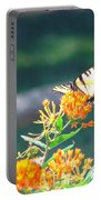 Yellow Monarch Butterfly Portable Battery Charger