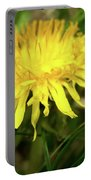 Yellow Mountain Flower's Petals Portable Battery Charger