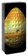 Yellow Nubbled Egg Portable Battery Charger