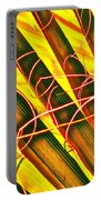 Yellow Palm Fun Portable Battery Charger