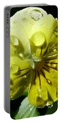 Yellow Pansy Portable Battery Charger