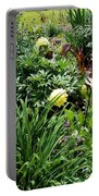 Yellow Peonia Portable Battery Charger