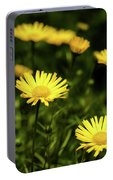 Yellow Petals Portable Battery Charger