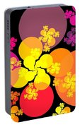 Yellow Pink Red Orbs Portable Battery Charger