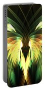 Yellow Plumes Portable Battery Charger