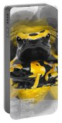 Yellow Poison Dart Frog No 04 Portable Battery Charger