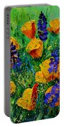 Yellow Poppies 560190 Portable Battery Charger