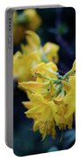 Yellow Rhododendron Flower Portable Battery Charger