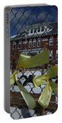 Yellow Ribbons At Groveton Elementary  Portable Battery Charger
