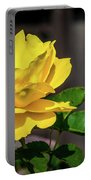 Yellow Rose Of Los Gatos Portable Battery Charger